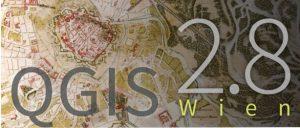 logo: QGIS Conference 2.8 Wien